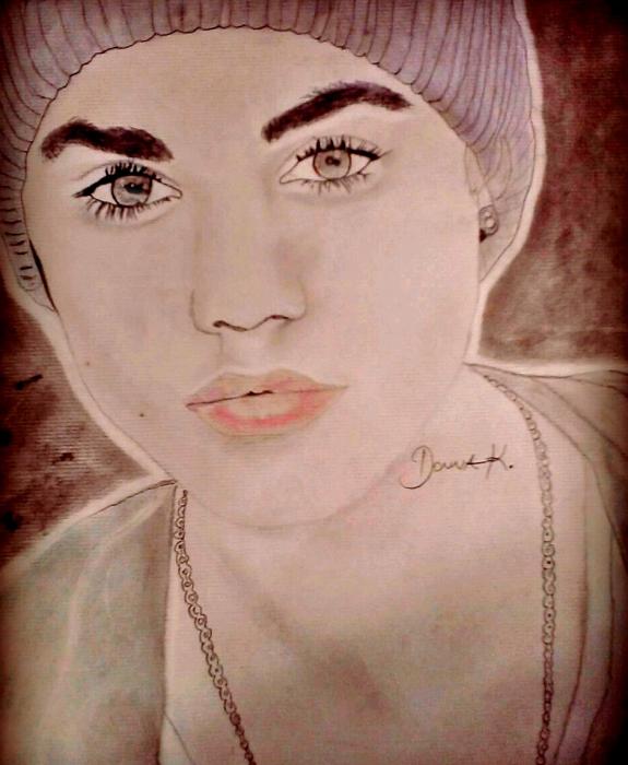 Justin Bieber by donnakrivca